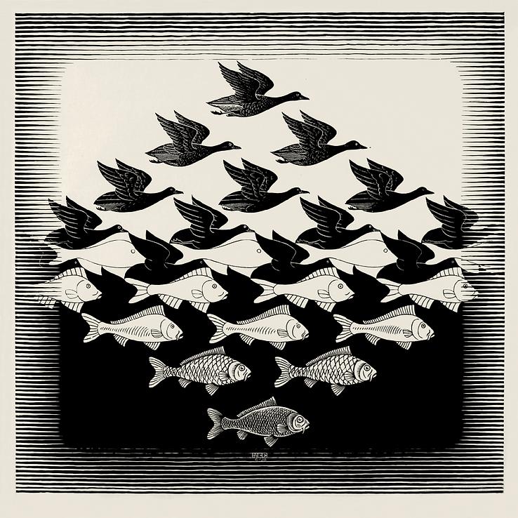 13.Escher_Cielo y agua I-02.png
