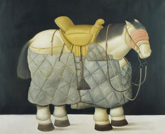 Caballo del picador, 1992_oleo sobre lienzo
