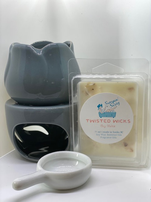 Wax Melt Warmer & 2 Wax Melts