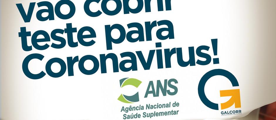 Planos de saúde vão cobrir teste para Coronavirus!