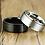 Thumbnail: Men's Stainless Steel Ring - Spinner Style - Size 10