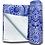 Thumbnail: Meditation Mat / Yoga Mat Towel/Covering - Purple/Blue Mandala Design