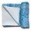 Thumbnail: Meditation Mat / Yoga Mat Towel/Covering - Blue - Green Mandala