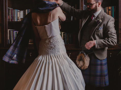 Highland Mist Wedding: The Bridal Kilt