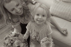 Choosing the bouquet
