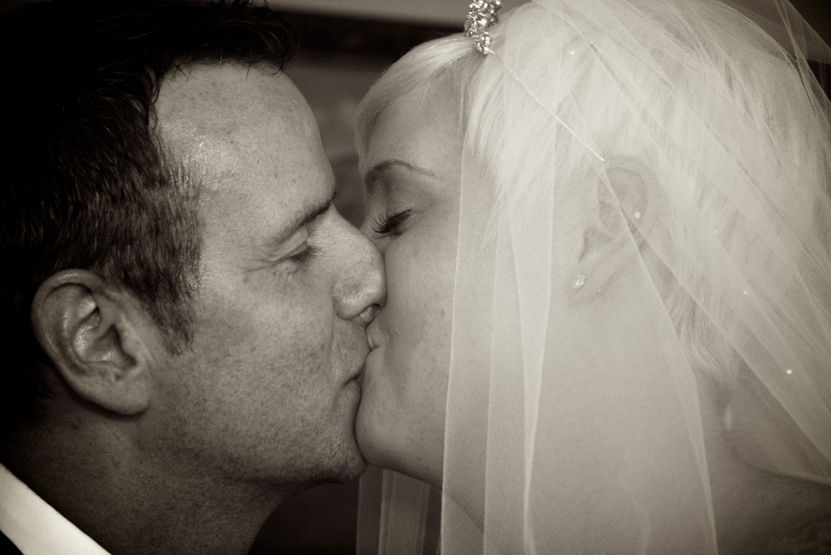 A Kiss To Say 'I Do'