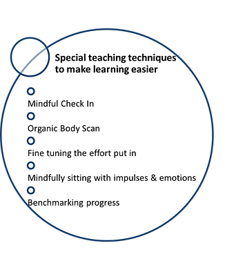 Special teaching techniques to make learning easier by Dr. Walsh