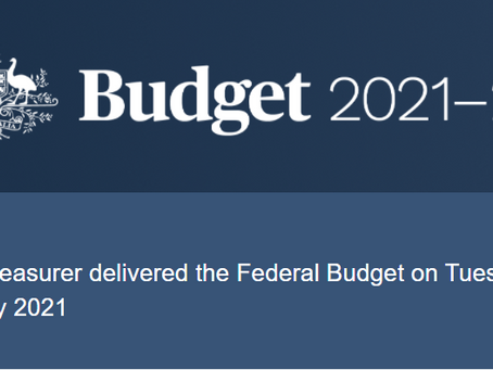 The 2021 Federal Budget and dementia