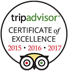 Citrus Grillhouse Tripadvisor Certificate of Excellence