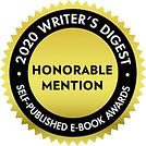2020 Writer's Digest Honorable Mention