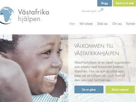 Nu lanseras vår nya webbplats