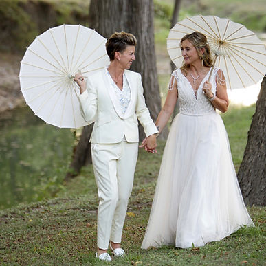 custom women's white tuxedo san antonio.