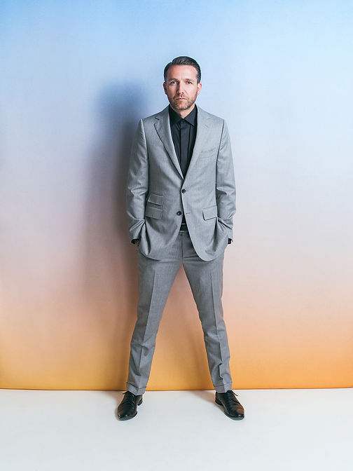 eclipse gray custom mens suit with pant