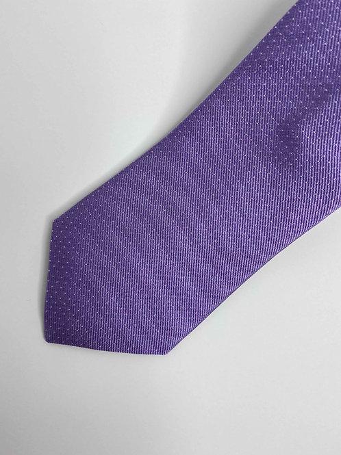 Icy Lavender Pindot Tie