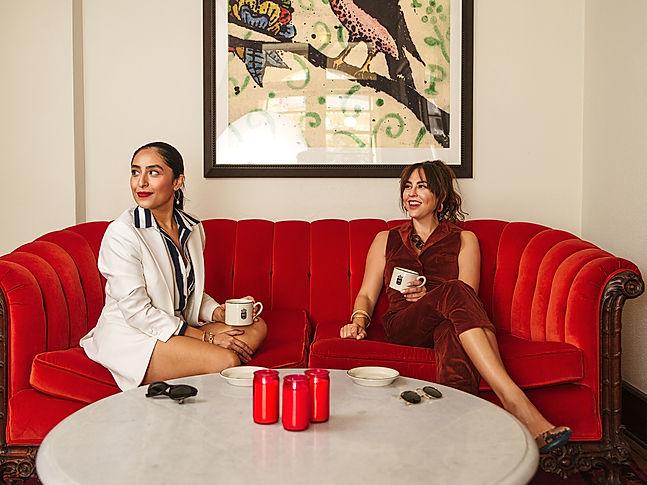 Hotel Havana San Antonio Velvet Couch Ph
