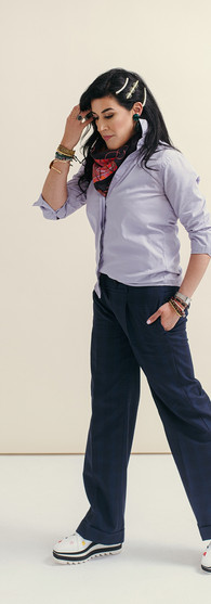 Lavender Dress Shirt + X Agency Pants $1,579