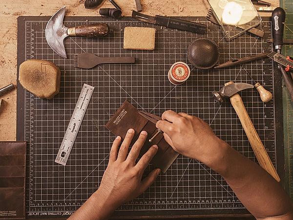 Phillip Kimm westeast armory leatherwork