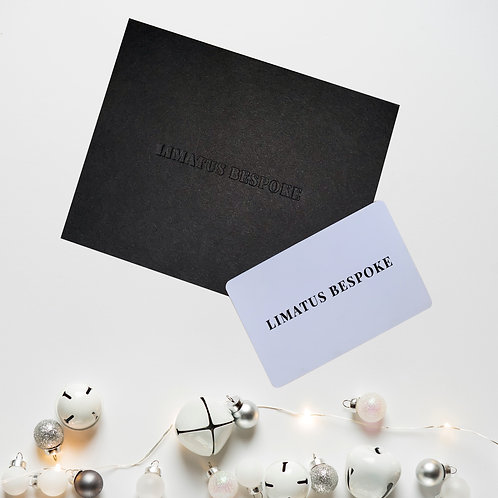 Custom Suit Gift Card