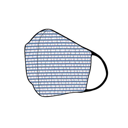 Women's 3-ply Seersucker (Blue)