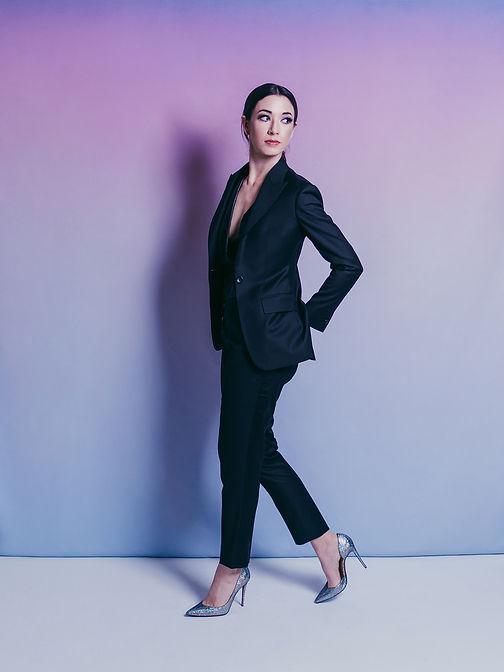 twilight black custom tailored womens su