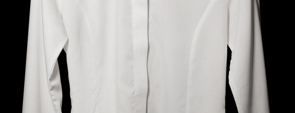 White Huddersfield White Dress Shirt