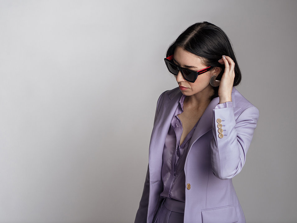 bespoke lavender purple custom suit san