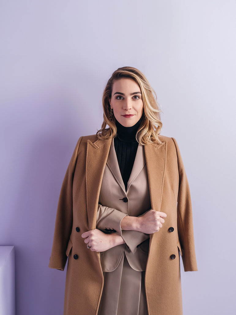 Eleanora Morrison custom women's camel o