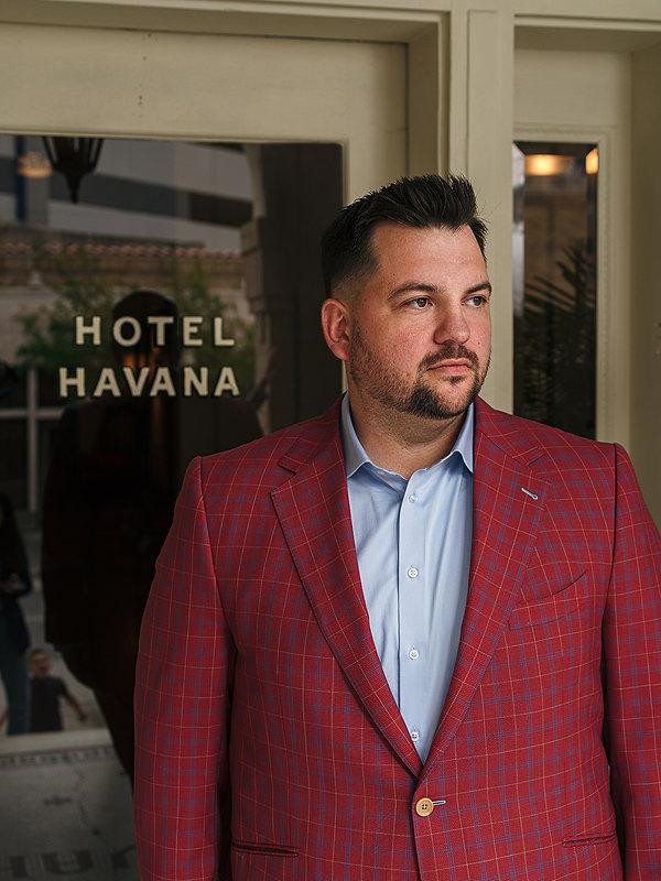 Joey Boatright Hotel Havana Custom Bespo