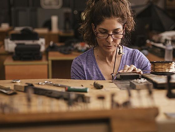 Priscilla Martinez Joyarte custom metal