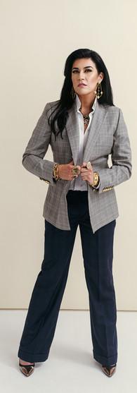 X Studio Blazer + X Agency Pants + White Shirt $3,269