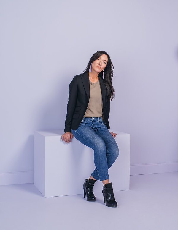 Dawn Southard jeans boots black blazer s