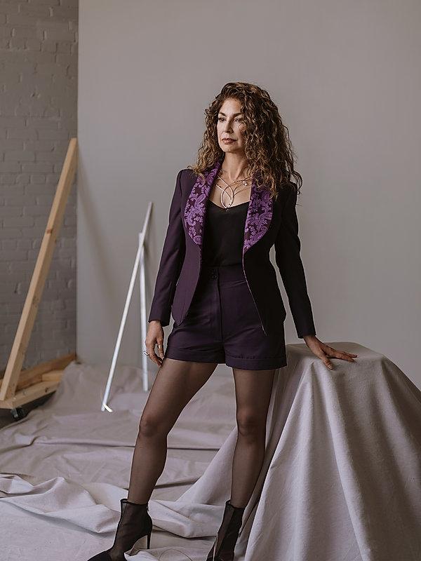 Priscilla Martinez Custom Women's Purple