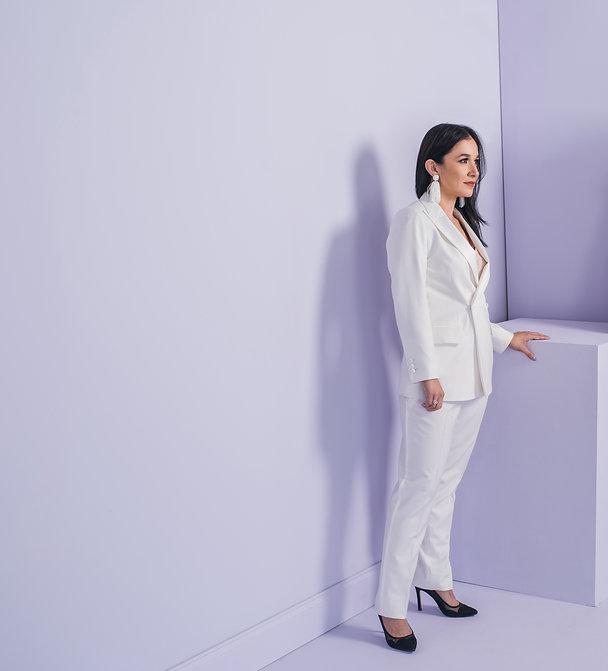 Dr. Erika Gonzalez womens custom white t
