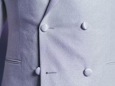 sirius custom white double breasted tuxe