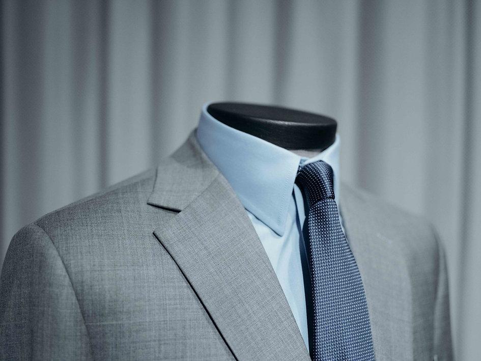 custom gray suit san antonio texas blue