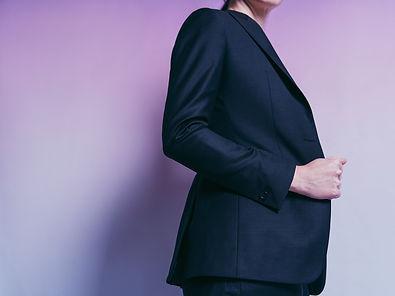 twilight tailored womens blazer one butt