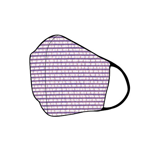 Women's 3-ply Seersucker (Purple)