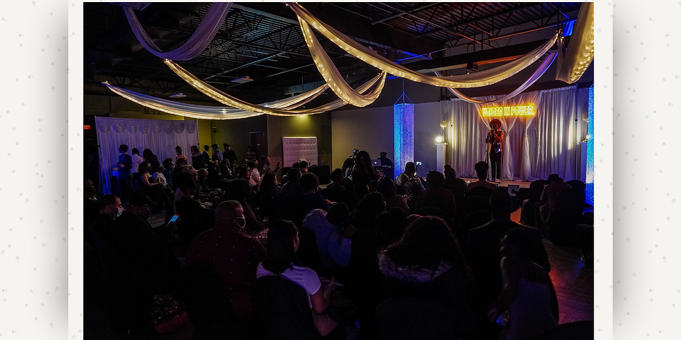 A Poetry Open Mic Experience