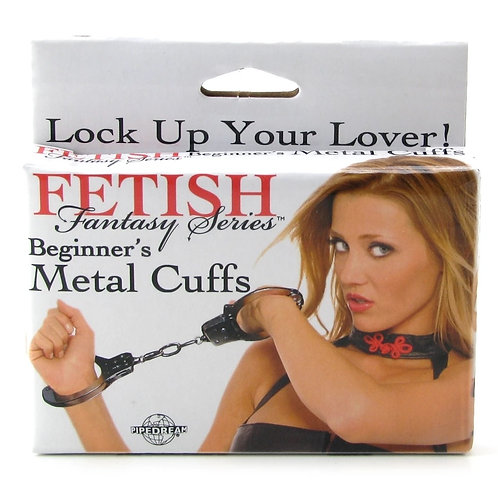 Fetish Fantasy Beginner's Metal Cuffs