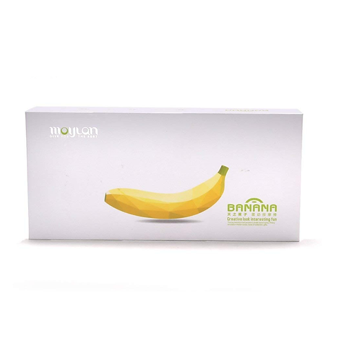 Moylan Banana Design 7 Speeds Dildo Vibratior