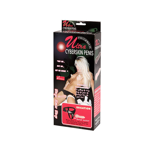 Baile Ultra Passionate Cyberskin Penis Strap-on