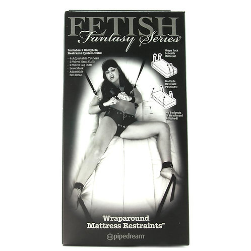Fetish Fantasy Wraparound Mattress Restraints