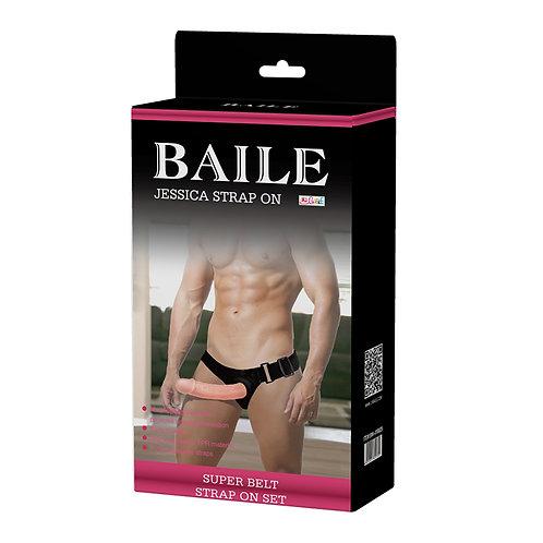 Baile Jessica Dildo Strap-On Vibrator for Men