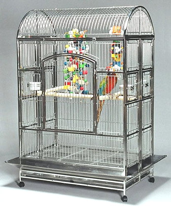 4832 Featherland Stainless Steel Bird Cage
