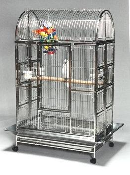 4228 Featherland Stainless Steel Bird Cage