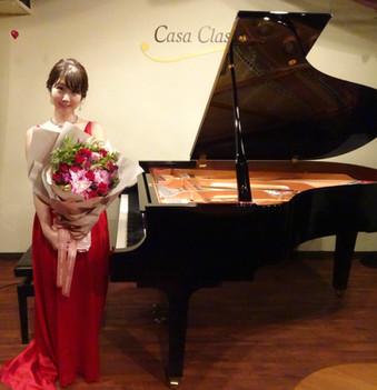 2020年9月 カーサクラシカにてピアノリサイタル
