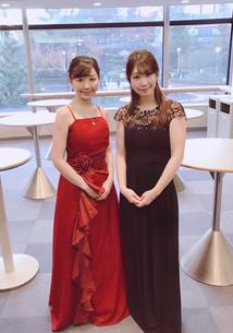 2019年12月 フルーティストの道下千愛さんと共演