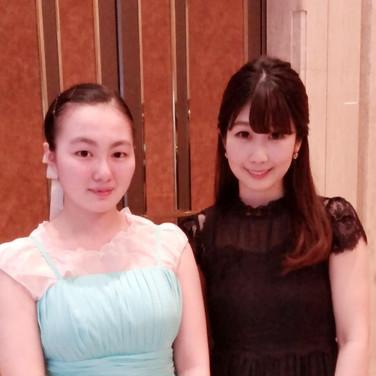 2019年7月 コンクール入賞記念コンサートにて伴奏