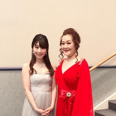 2019年7月 ソプラノ広瀬なるみさんと共演