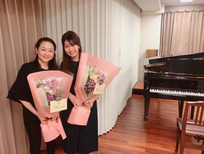 2020年2月 ヴァイオリンの発表会にてピアノ伴奏